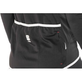 Sportful Pista Maillot à manches longues Homme, black/white-red